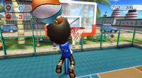 Nintendo Wii Sports Resort basketball
