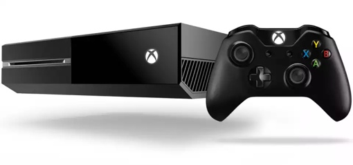 Xbox One console with controller