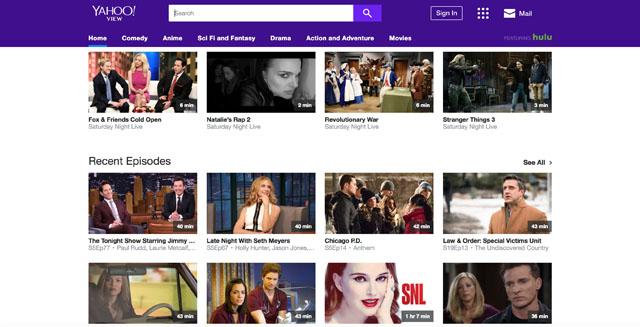 Yahoo! View