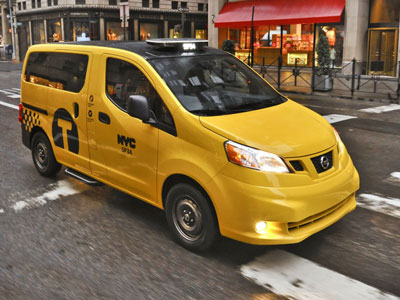 Nissan NYC Taxi 400Px