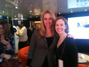 Jen Brown, Director Today.com, and Suzanne Kantra, Founder Techlicious