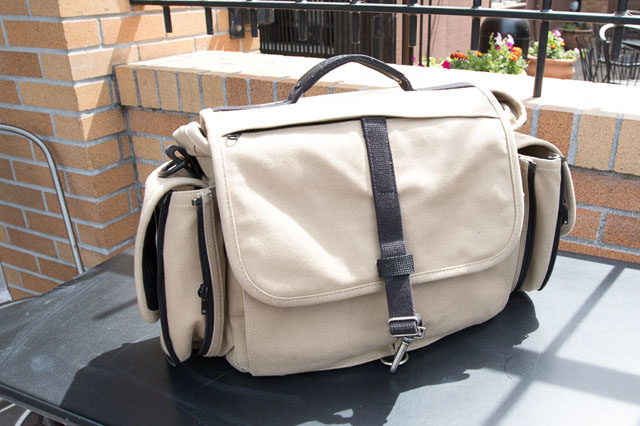 Best Messenger Camera Bag: Domke Next Generation Journalist Series Herald