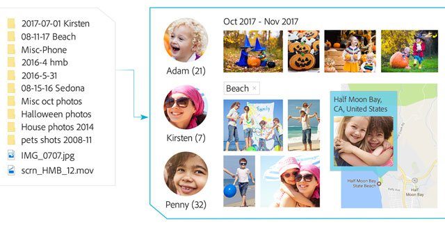 Adobe Photoshop Elements 2018 Organizer