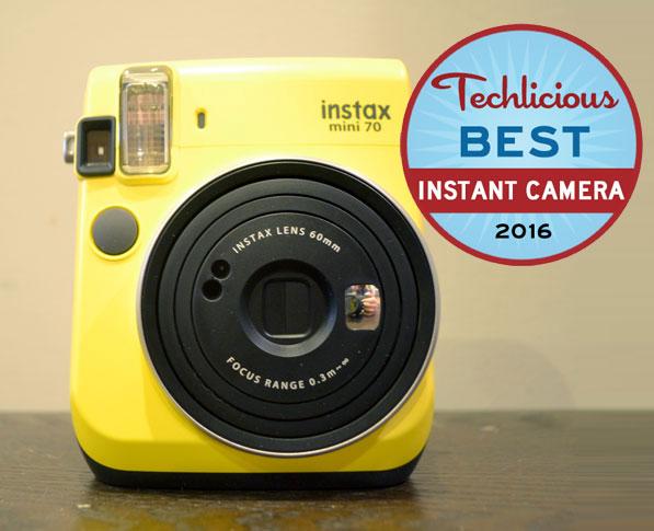 Best Instant Camera: Instax Mini 70 Instant Camera