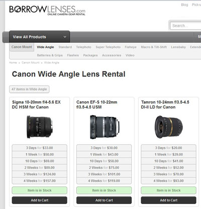 BorrowLenses.com
