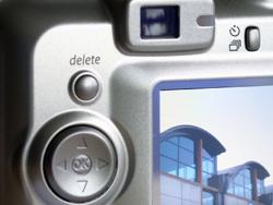 camera delete button