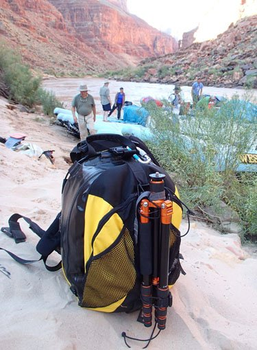 Best Waterproof Backpack: LowePro DryZone 200
