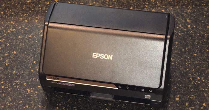 Review of the Epson FastFoto FF-680W
