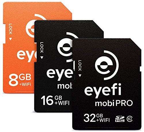 Eye-Fi Mobi family