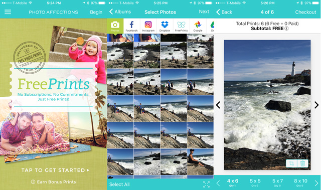 freeprints is an offshoot of online photo printing shop which perhaps explains why it can offer 1000 free 4 x 6 prints per year - 1000 Free Prints