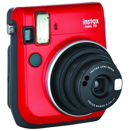 Fujifilm Red Mini 70 Instant Film Camera