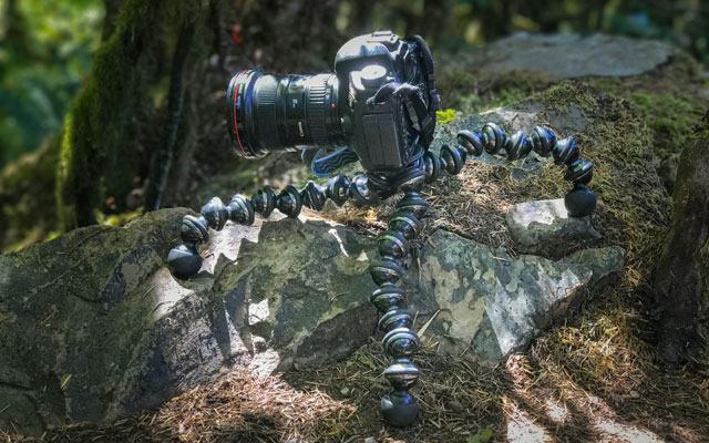Best Tripod for Uneven Ground: Joby GorillaPod Focus with Ball Head