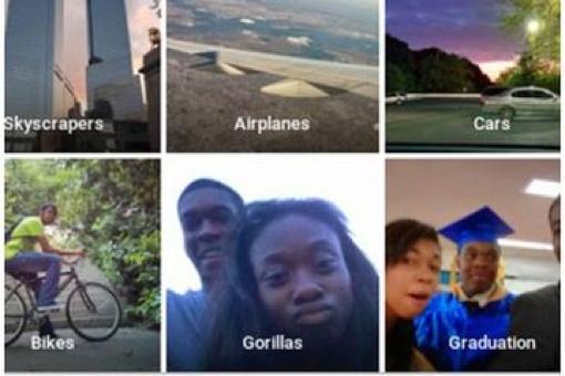 Google Photos 'gorillas' tag