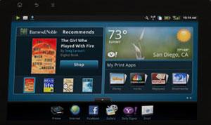 HP eStation display