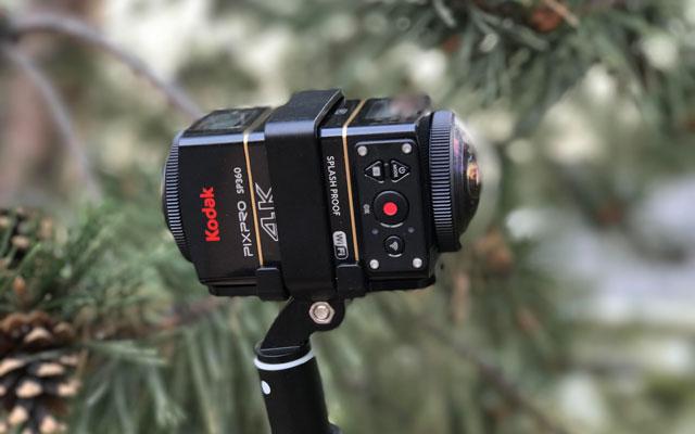 Best video quality and camera control: Kodak PIXPRO SP360 4K Dual Pro Pack