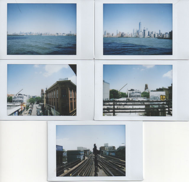 Instax Mini 70 Instant Camera Landscape Test