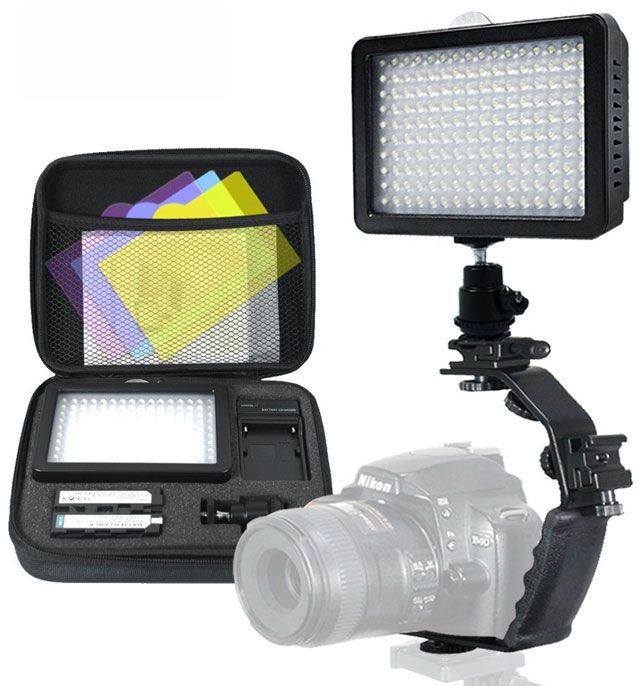 Video Light: LimoStudio 160 LED video light lamp