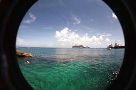 Lomo Fisheye One landscape shot