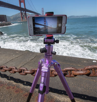 Best for Tripod for Smartphones: MeFoto BackPacker Air