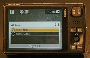 multi-zone focus