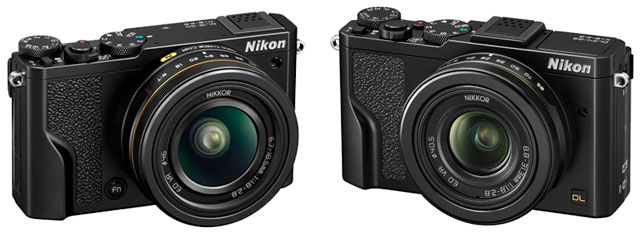 Nikon's DL18-50 and DL24-85: the company's first premium compact cameras