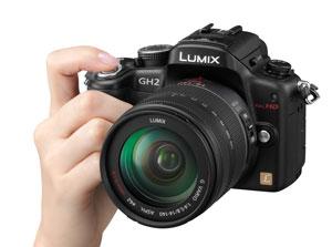 Panasonic Lumix GH2 with 14-140 lens