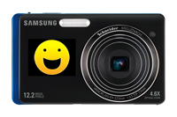 Samsung DualView with smile