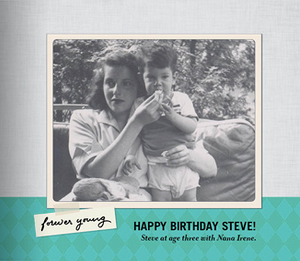 Milestone Birthday Book