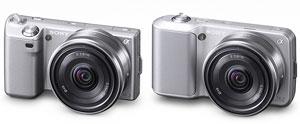 Sony NEX-5 and NEX-3