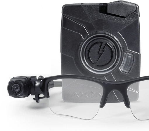 Tazer Axon Flex police camera