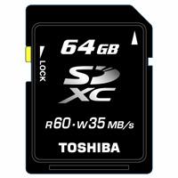 Toshiba 64GB SDXC memory card