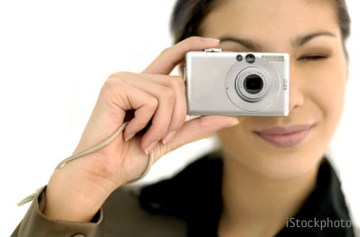 Image result for digital camera taking a picture