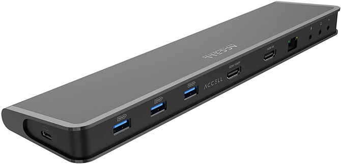 Accell's Driver-Less USB Docking Station