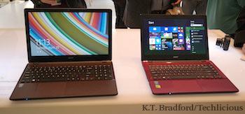 Acer Aspire E14 & E15