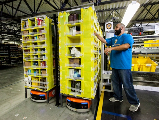 Amazon.com order fulfillment facility