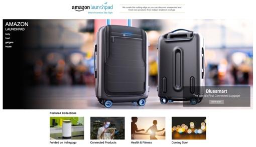 Amazon Launchpad screenshot