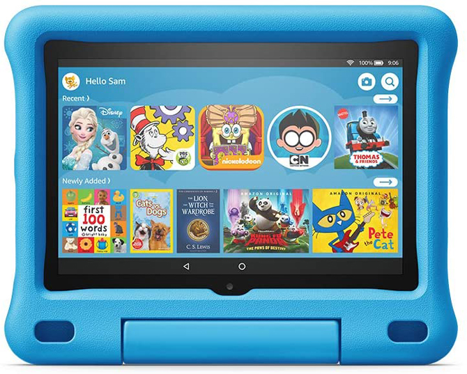 A sub-$100 tablet that's loaded with content: Amazon FireHD 8 Kids Edition