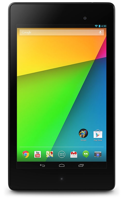 Tablet running Android 4.3 Jelly Bean