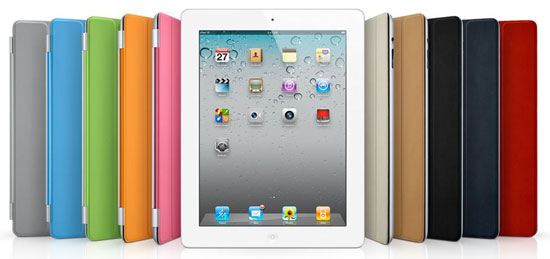 Apple iPad 2 Smart Cover color options