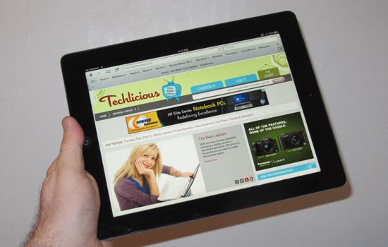 Apple new iPad (iPad 3) hands-on