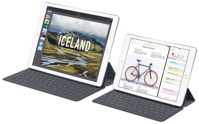 Apple iPad Pro 9.7 and 12.8 models