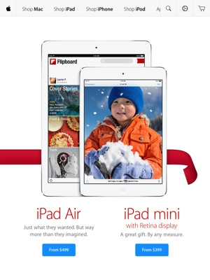 Apple Store app for iPad