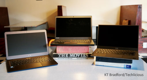 Testing the Asus Zenbook UX 305, Dell XPS 13 and Lenovo ThinkPad T450s