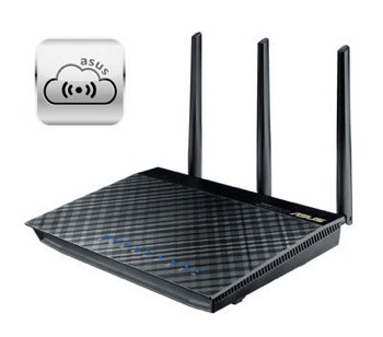Asus RT-AC66R router with AiCloud