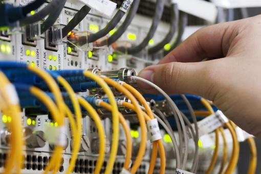 Broadband Internet cables