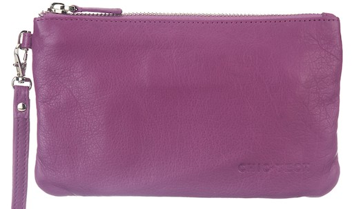 ChicTech Leather Wristlet