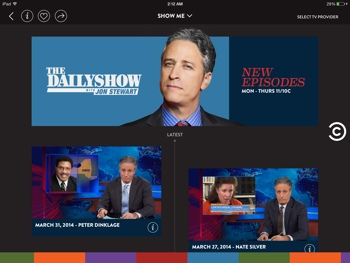 Comedy Central app for iPad