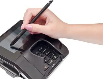 bank card POS terminal