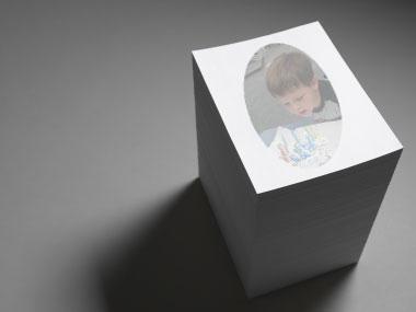 Custom memo pad