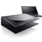 Dell Latitude with wireless charging stand